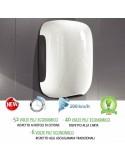 Asciugamano elettrico con fotocellula Smart Jet mini Bianco 900w