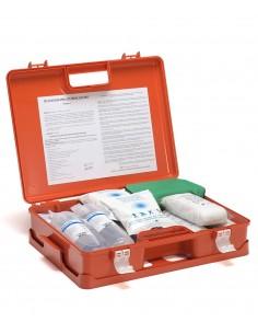 Sicurmed Cassetta Pharma+ Valigetta Pronto Soccorso oltre 3/25 dip. cat.Ab all.2 con sfigmomanometro
