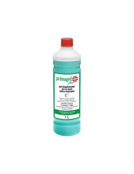 PRIMAGEL PLUS 1 litro Gel igienizzante mani base alcolica detershoponline.it