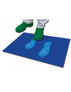 Tappeto decontaminante antibatterico blu 30 strati 45x90
