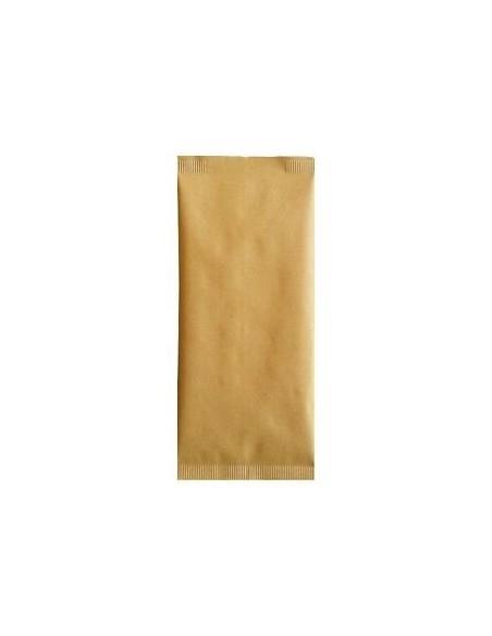 Buste portaposate in carta paglia11x25 1000 pz. c/tovagliolo