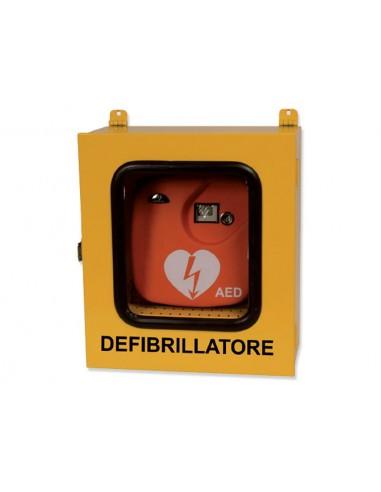Armadietto teca per defibrillatore -...