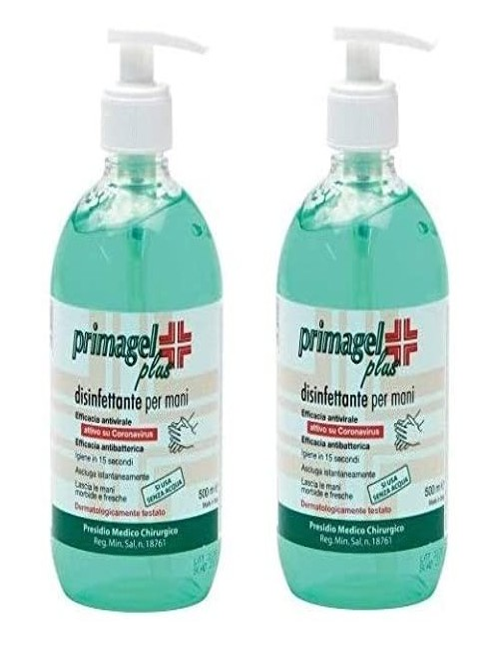 2x Primagel 500 ml con erogatore detershoponline.it