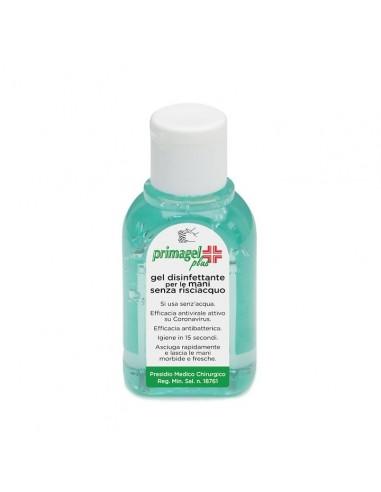 PRIMAGEL PLUS 50ml Gel igienizzante mani base alcolica detershoponline.it