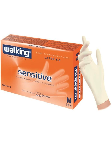 100 Guanti lattice Sensitive Walking...