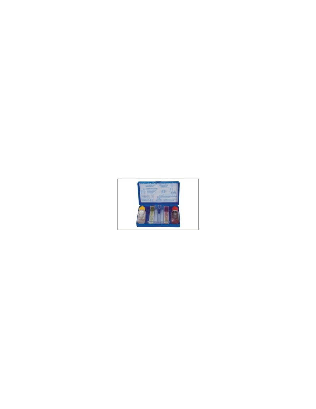 Test kit analizzatore ph e cloro piscine detershoponline - Test ph piscine ...