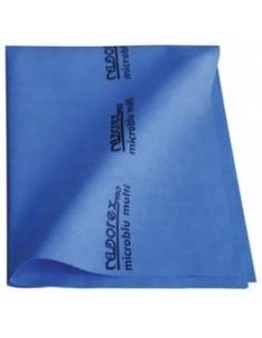 5 Panni blu microfibra...