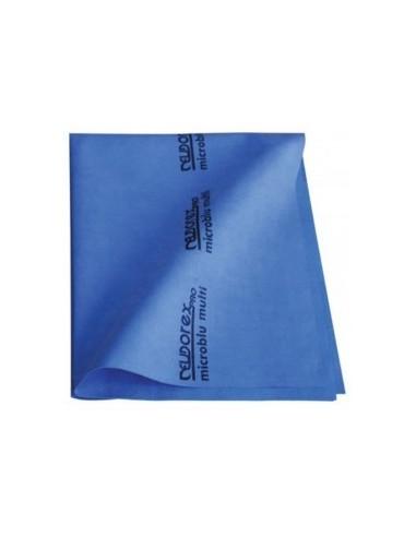 5 Panni blu microfibra 40x53 Eurodex...
