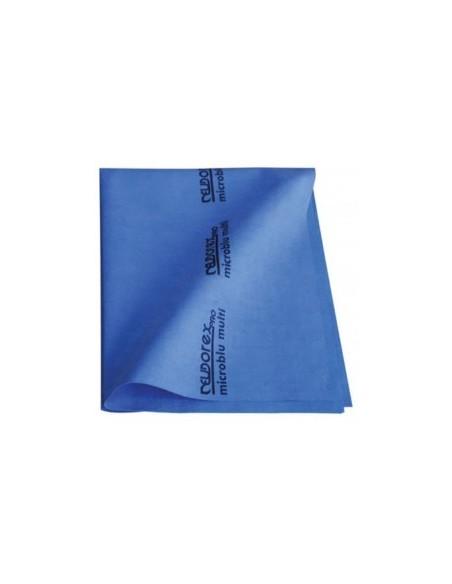 5 Panni blu microfibra 40x53 Eurodex vetri conf. 5 pezzi