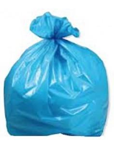 Sacco spazzatura azzurro 90x120 250pz. raccolta differenziata