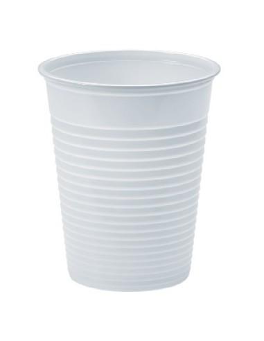 Bicchiere plastica bianco 200cc 3000pz.