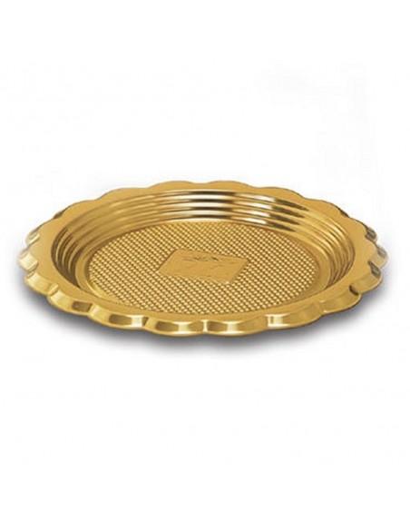 Vassoio medoro tondo monoporzione 100pz. diametro 12 cm.