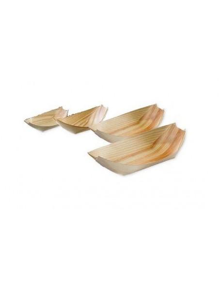 Piroghe in legno bamboo finger food pz. 50