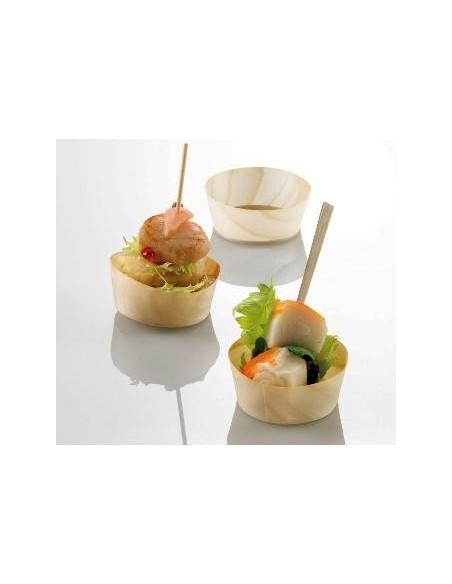 Vaschetta in legno pz.100 finger food