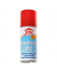 Scioglimacchia smacchiatore per abiti a secco spray K2R 100ml. bomboletta