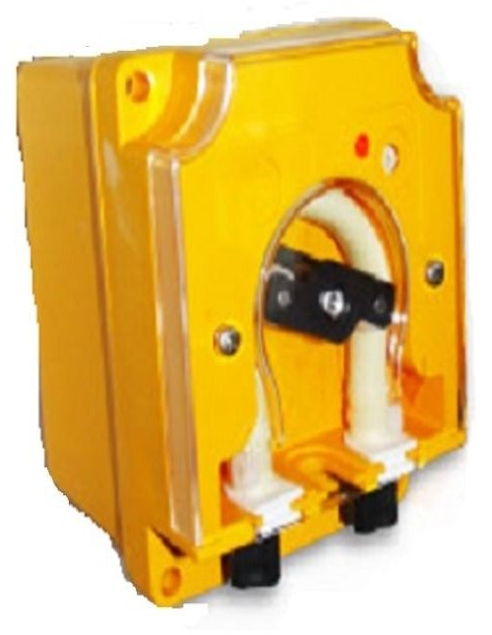 Pompa dosatrice a velocita' variabile per detergente lavastoviglie