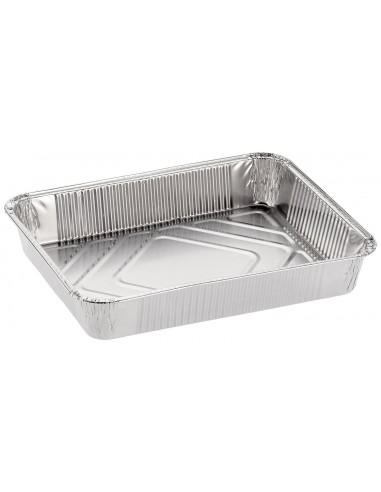 Vasachetta in alluminio 4 porzioni confezione 100pz.