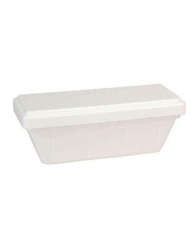 Vaschetta in polistirolo contenitore per gelato 1000gr. 50pz.