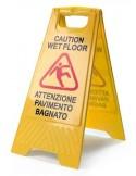 """Segnale """"pavimento bagnato"""""""