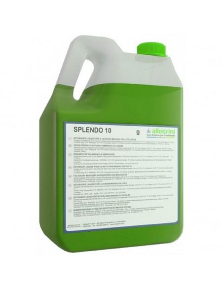 Lavapiatti per stoviglie liquido neutro Splendo limone kg.5