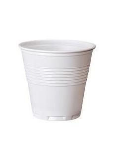 Bicchiere plastica bianco...