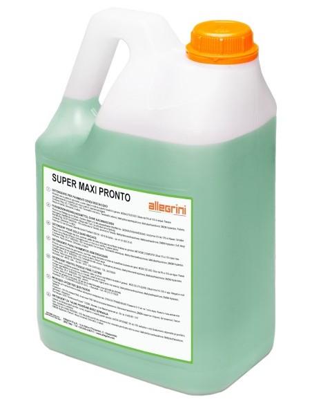 Super Maxi Pronto lt.5 - lavapavimenti senza risciacquo profumato - Allegrini spa