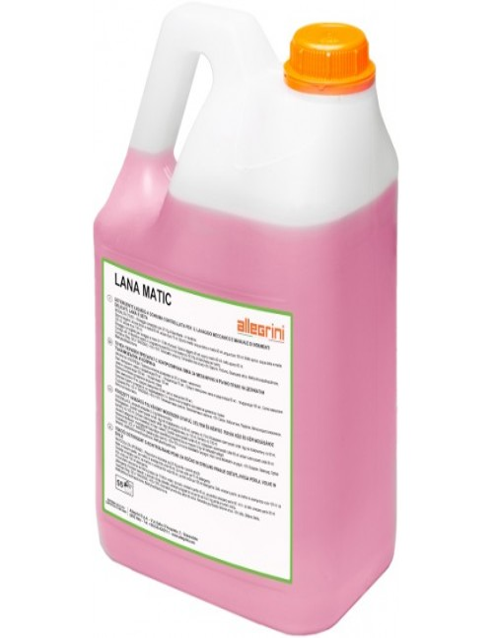 Lana Matic kg. 5 detergente liquido per capi delicati e lana - Allegrini
