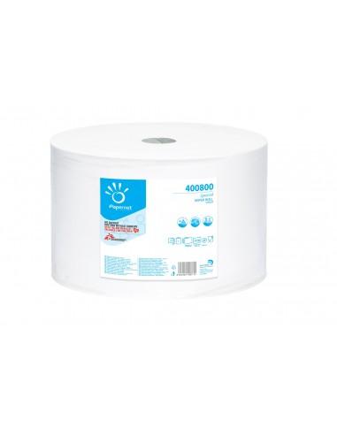 Rouleau de papier rouleau 2030 déchire 2 feuilles de cellulose pure milleusi 400800 Papernet