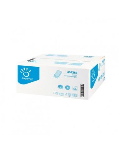 Asciugamani piegati a V pura cellulosa 3150 pezzi Papernet