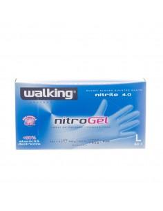 Guanti In Nitrile Walking Nitrogel 4.0gr - 100pz Taglia M