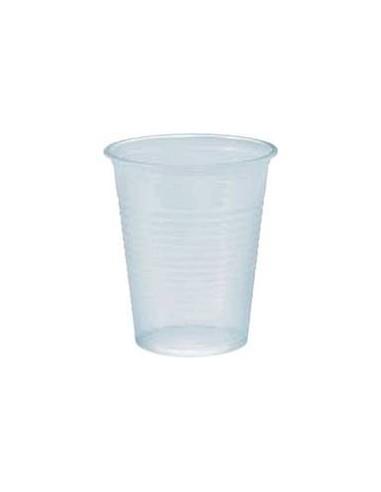 Bicchiere plastica trasp. 166cc. 3000pz.