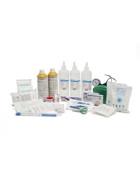 Pacco kit reintegro per cassette pronto soccorso Cat. A-B all. 1 con sfigmomanometro Pharma+